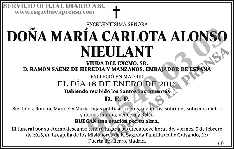 María Carlota Alonso Nieulant